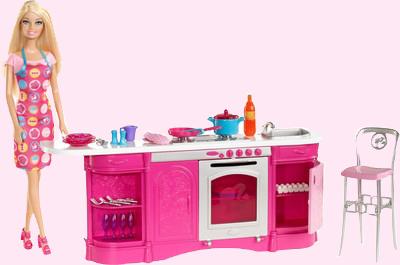 Barbie Cooking Fun Kitchen Doll 3 Years Over Send Cooking Fun Kitchen Set Barbie Doll To India Palysets Accessories Barbie Dolls Online Kids Gift Shop