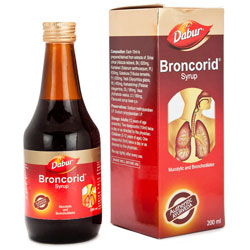 Dabur Broncorid Syrup - Cures Asthma, Breathlessness, Cough