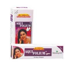 Aquifolium Drops Cream Acne Pimples