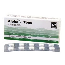 Schwabe Homeopathy Alpha-Tons for Tonsillitis