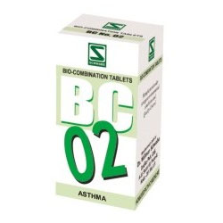 Schwabe Homeopathy Bio Combination 02 for Asthma