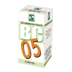 Schwabe Homeopathy Bio Combination 05 for Coryza