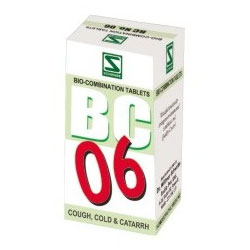 Buy Schwabe Homeopathy Bio Combination 06 for Cough, Cold
