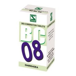 Schwabe Homeopathy Bio Combination 08 for Diarrhoea