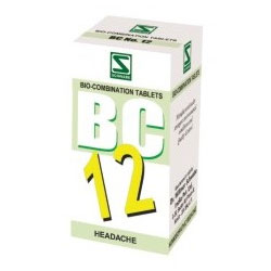 Schwabe Homeopathy Bio Combination 12 for Headache