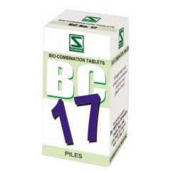 Schwabe Homeopathy Bio Combination 17 for Piles