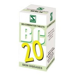 Schwabe Homeopathy Bio Combination 20 for Skin Diseases