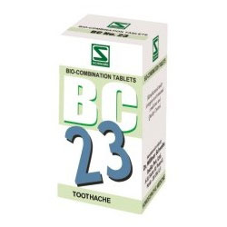 Schwabe Homeopathy Bio Combination 23 for Toothache