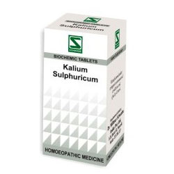 Schwabe Homeopathy Kalium Sulphuricum for Itchy and scaly skin