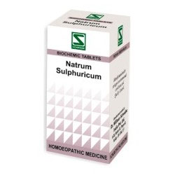 Schwabe Homeopathy Natrum Sulphuricum for Indigestion and hyperacidity