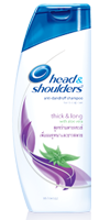Head and shoulders thick long shampoo