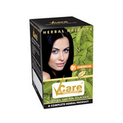 Buy Vcare Herbal Hair Dye - 0% Chemical, 100% Herbal - Unique & Safe ...