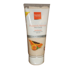 VLCC Papaya and Apricot Face Scrub