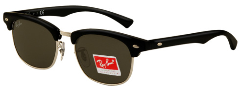 69e113a4ed033 Buy RayBan RB 9050S Plastic Junior Sunglasses. 100 71 black grey ...