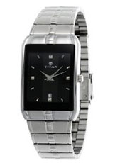 Titan Karishma Analog Black Dial Men's Watch - NE9151SM02A