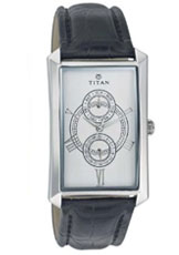 Titan Classique Analog Black Dial Men's Watch - ND1490SL01