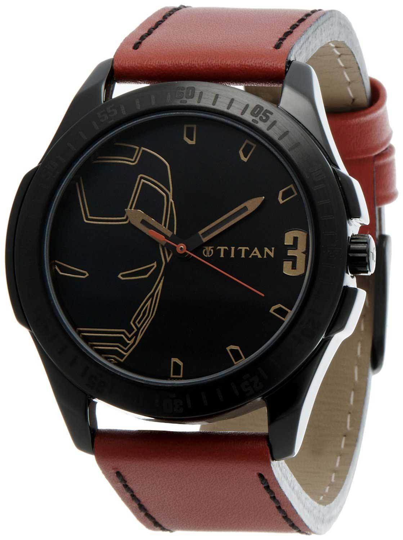 buy titan karishma analog gold dial men s watch ne1578yl05 titan iron man 3 analog black dial men s watch 1587nl01