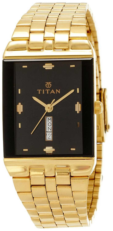 f21fe51f8 Buy Titan Karishma Analog Black Dial Men s Watch - NC1918YM14. Titan  Watches Online Shop mall.coimbatore.com.