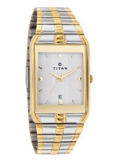 Titan Karishma Analog Silver Dial Men's Watch - NE9151BM01