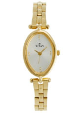 Titan Karishma Analog Silver Dial Women's Watch - NC2418YM01