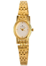 Titan Karishma Analog White Dial Women's Watch - NC2449YM01