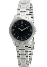 Titan Purple Analog White  Dial Women's Watch - NC9882SM01