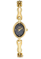 Titan Raga Analog Black Dial Women's Watch - NC2370YM04