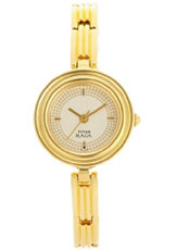 Titan Raga Analog Champagne Dial Women's Watch - ND2498YM01