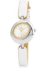 Titan Tagged Analog White Dial Women's Watch - 2485SL01