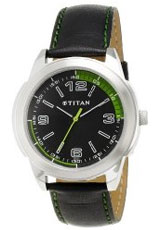 Titan Youth Analog Black Dial Men's Watch - NE1585SL04