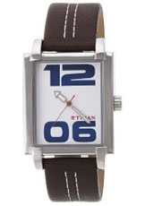 Titan Youth Analog White Dial Men's Watch - 1593SL02