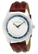 Titan Youth Analog White Dial Men's Watch - NE1590SL01